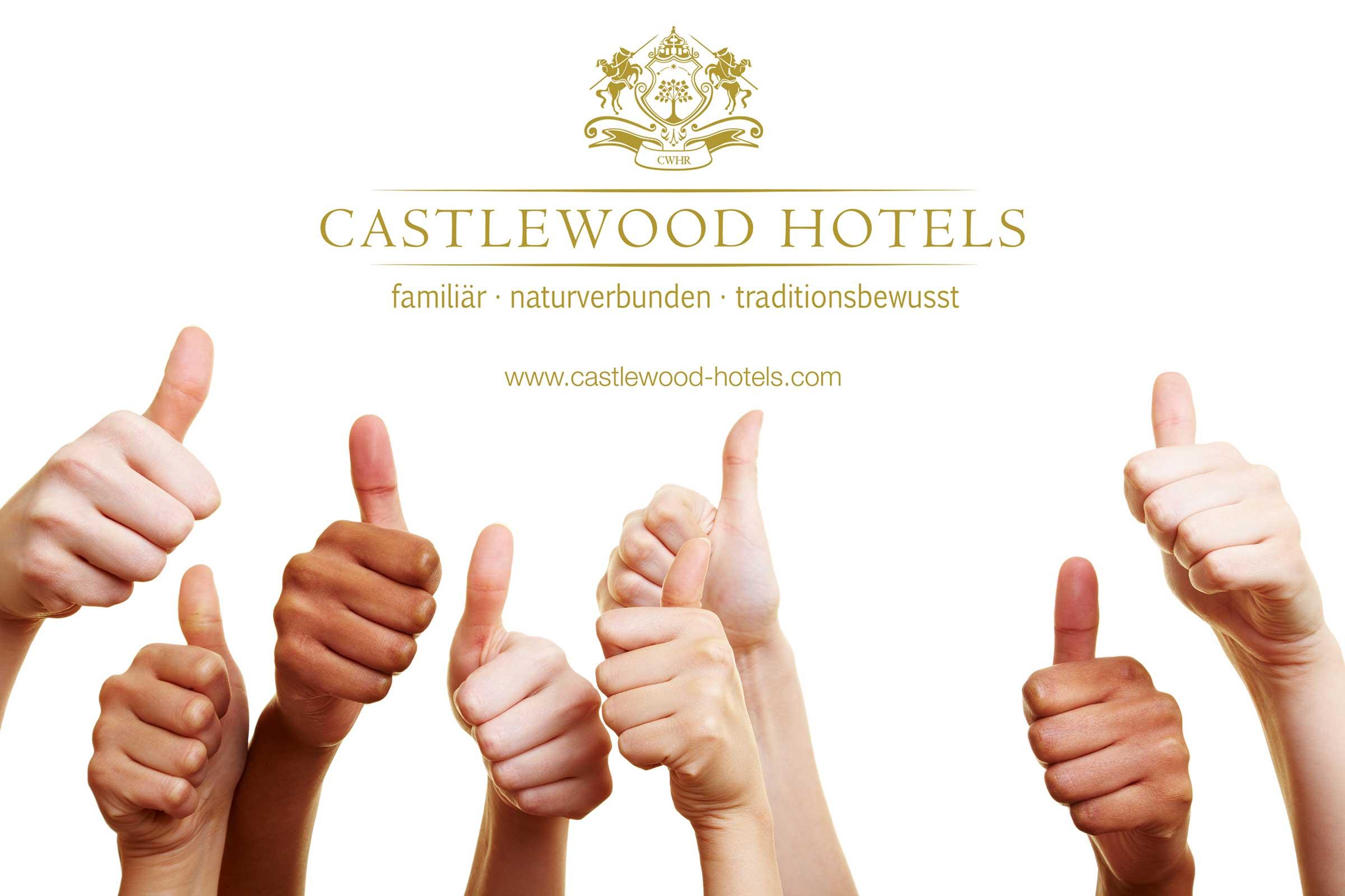 Daumen hoch für Castlewood Hotels